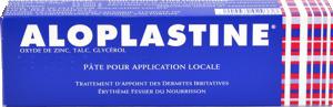 Aloplastine, pâte pour application locale