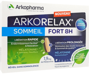 ARKORELAX SOMMEIL FORT 8 HEURES