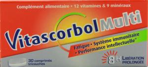 Vitascorbolmulti 30 comprimés