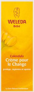 Weleda bébé & enfant crème pour le change au calendula 75 ml