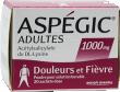 Aspegic adultes 1000 mg, poudre pour solution buvable en sachet-dose