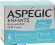 Aspegic enfants 250, poudre pour solution buvable en sachet-dose