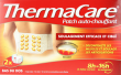 Thermacare patch auto chauffant antidouleur
